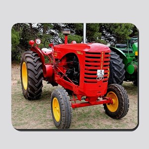 Old red tractor Mousepad