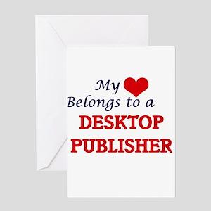 My heart belongs to a Desktop Publi Greeting Cards