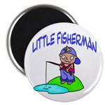Little Fisherman Magnet