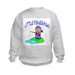 Little Fisherman Kids Sweatshirt