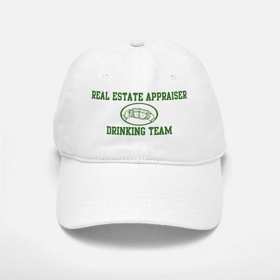 Real Estate Appraiser Drinkin Baseball Baseball Cap