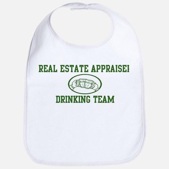 Real Estate Appraiser Drinkin Bib
