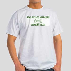 Real Estate Appraiser Drinkin Light T-Shirt