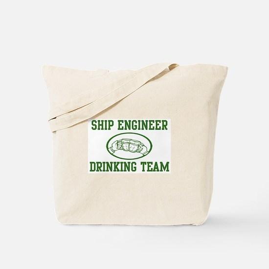 Ship Engineer Drinking Team Tote Bag