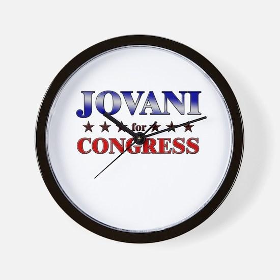JOVANI for congress Wall Clock