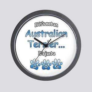 Aussie Terrier Not Wall Clock