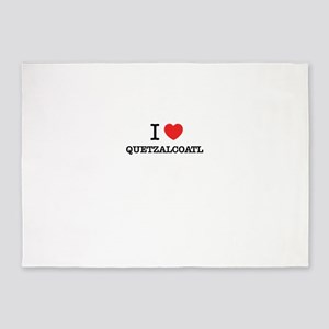 I Love QUETZALCOATL 5'x7'Area Rug