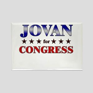JOVAN for congress Rectangle Magnet