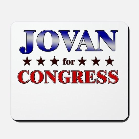 JOVAN for congress Mousepad