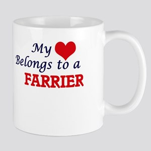 My heart belongs to a Farrier Mugs