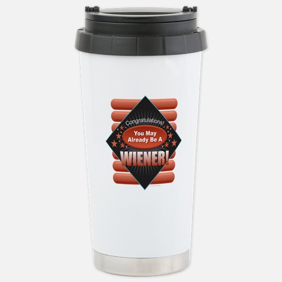 Wiener Stainless Steel Travel Mug