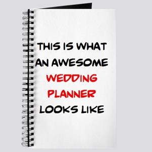 awesome wedding planner Journal