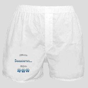 Beauceron Not Boxer Shorts