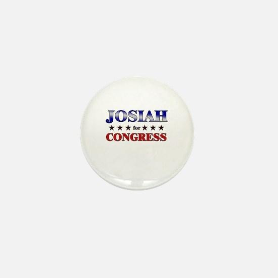 JOSIAH for congress Mini Button