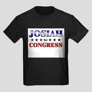 JOSIAH for congress Kids Dark T-Shirt