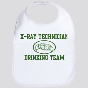 X-Ray Technician Drinking Tea Bib