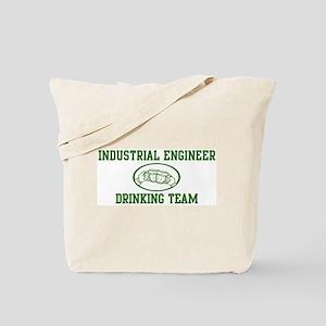 Industrial Engineer Drinking  Tote Bag