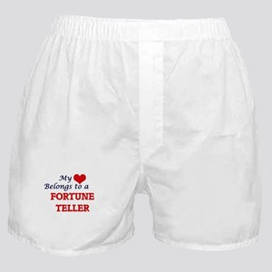 My heart belongs to a Fortune Teller Boxer Shorts