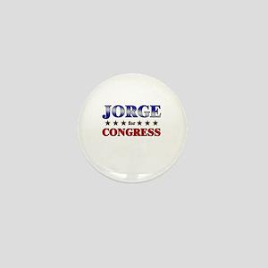 JORGE for congress Mini Button