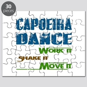 Capoeira dance, Work it,Share it, Move it Puzzle