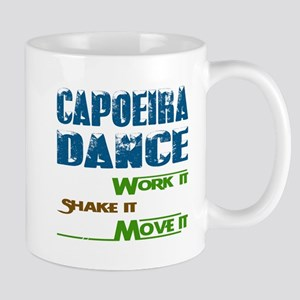 Capoeira dance, Work it,Share it 11 oz Ceramic Mug