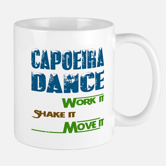 Capoeira dance, Work it,Share it Mug
