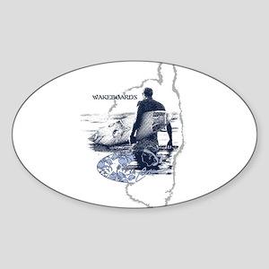 Suf Oval Sticker