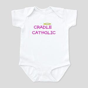 cradle catholic girl logo copy Body Suit