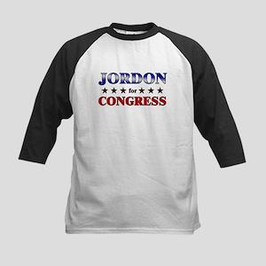 JORDON for congress Kids Baseball Jersey