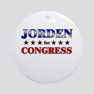 JORDEN for congress Ornament (Round)