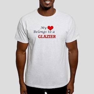 My heart belongs to a Glazier T-Shirt