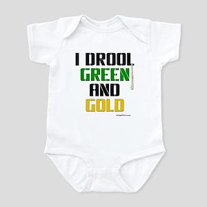 GREEN AND GOLD (Boston) Infant Bodysuit