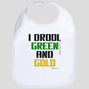 GREEN AND GOLD (Boston) Bib