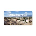 Albuquerque Aluminum License Plate
