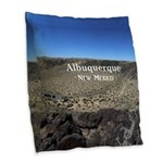 Albuquerque Burlap Throw Pillow