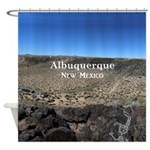 Albuquerque Shower Curtain