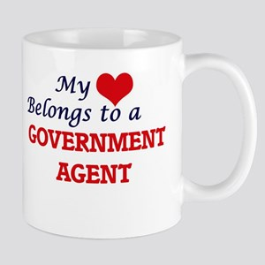 My heart belongs to a Government Agent Mugs