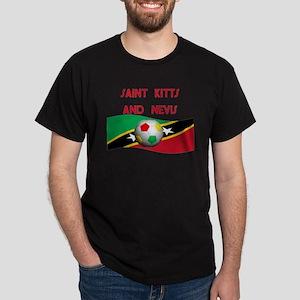 TEAM SAINT KITTS AND NEVIS Dark T-Shirt