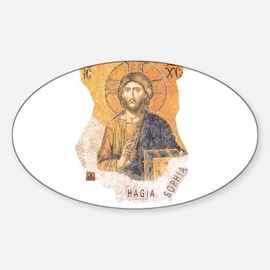 Jesus Hagia Sophia Decal