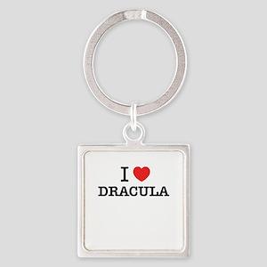 I Love DRACULA Keychains
