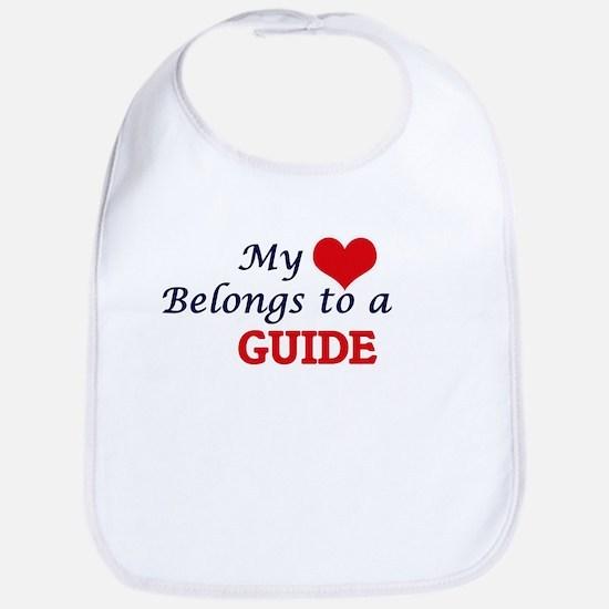 My heart belongs to a Guide Bib