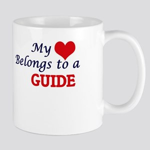 My heart belongs to a Guide Mugs