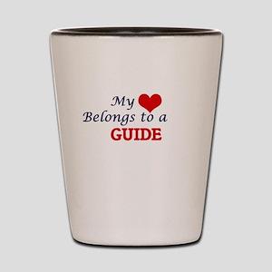 My heart belongs to a Guide Shot Glass