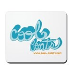 COOL FONTS Mousepad