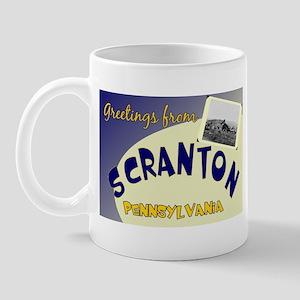 Greetings From Scranton Mug