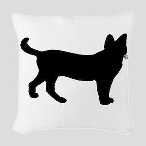 Serval Woven Throw Pillow