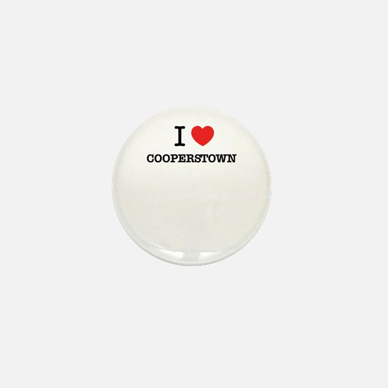I Love COOPERSTOWN Mini Button