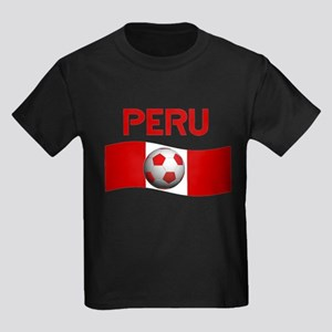 TEAM PERU Kids Dark T-Shirt