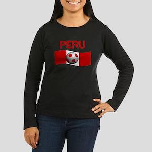 TEAM PERU Women's Long Sleeve Dark T-Shirt