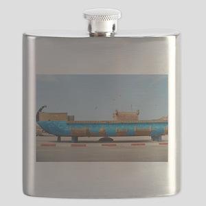 Essaouria boat Flask
